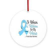 Hero - Prostate Cancer Ornament (Round)