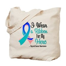 Hero - Thyroid Cancer Tote Bag