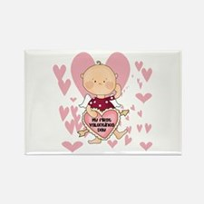 Angel Baby Valentine Rectangle Magnet (100 pack)