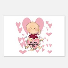 Angel Baby Valentine Postcards (Package of 8)