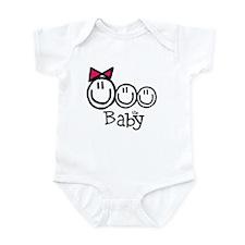 "Girl, Boy, Boy ""The Baby"" Infant Bodysuit"