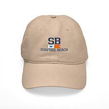 Surfside Beach SC - Nautical Design Cap