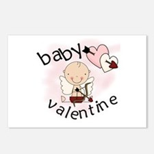Baby Valentine Postcards (Package of 8)