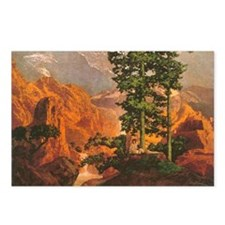 Maxfield Parrish Solitude (Package of 8)
