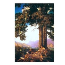 Maxfield Parrish Hilltop Postcards (Package of 8)
