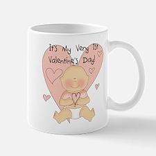 Girl 1st Valentine's Day Mug