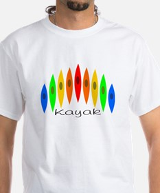 Rainbow of Kayaks Shirt