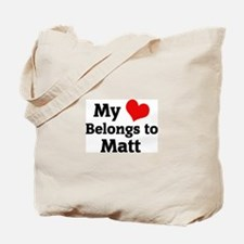 My Heart: Matt Tote Bag