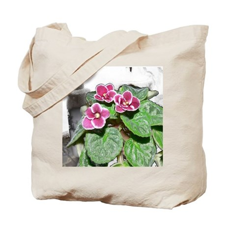 African Violet in the Sunshine Tote Bag