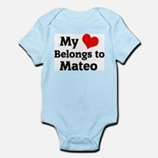 My Heart: Mateo Infant Creeper