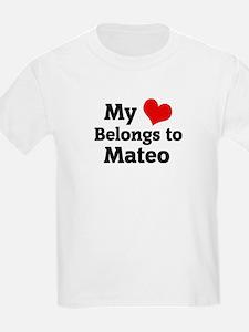 My Heart: Mateo Kids T-Shirt