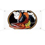 Cuda Fish Garage Banner
