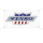Yenko Crest Tribute Garage Banner