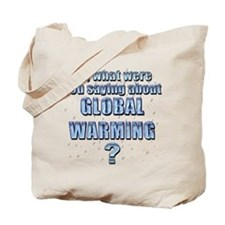 Anti-Global Warming 7 Tote Bag