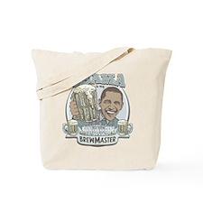 Obama Brewmaster Tote Bag