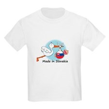 Stork Baby Slovakia T-Shirt