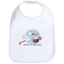 Stork Baby Slovakia Bib