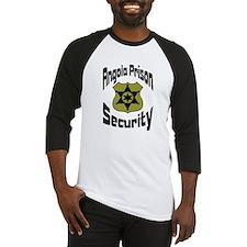 Angola Prison Security Baseball Jersey