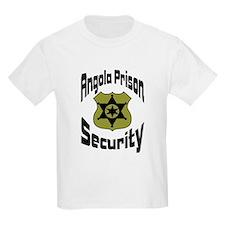 Angola Prison Security Kids T-Shirt