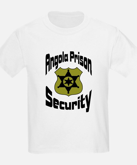 Angola Prison Security Kids T-Shirt