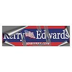SCRAPING OFF KERRY-EDWARDS Bumper Sticker