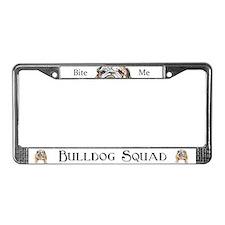Bulldog LICENSE PLATE FRAMES! License Plate Frame
