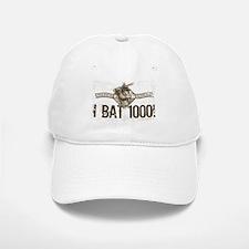 I Bat 1000 Diamond Baseball Baseball Cap