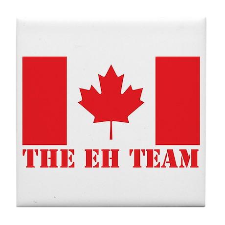 The Eh Team Tile Coaster