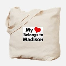 My Heart: Madison Tote Bag