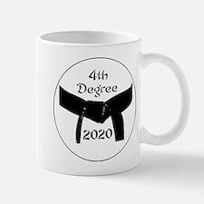 Martial Arts 4th Degree Black Belt Mug Mugs