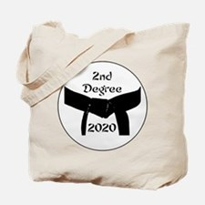Martial Arts 2nd Degree Black Belt Tote Bag