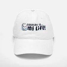 Smiley Baseball is Life Baseball Baseball Cap
