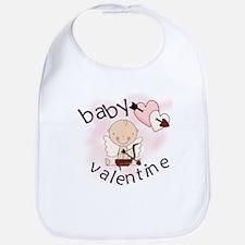 Baby Valentine Bib