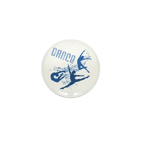 Dance (blue) Mini Button
