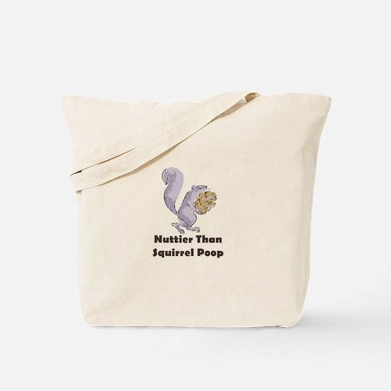 Squirrel Poop Tote Bag