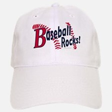 Graphic Baseball Rocks Baseball Baseball Cap