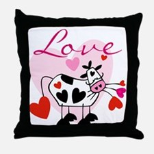 Mooey Love Throw Pillow