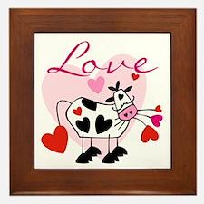 Mooey Love Framed Tile