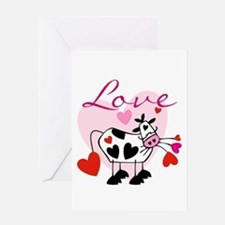 Mooey Love Greeting Card
