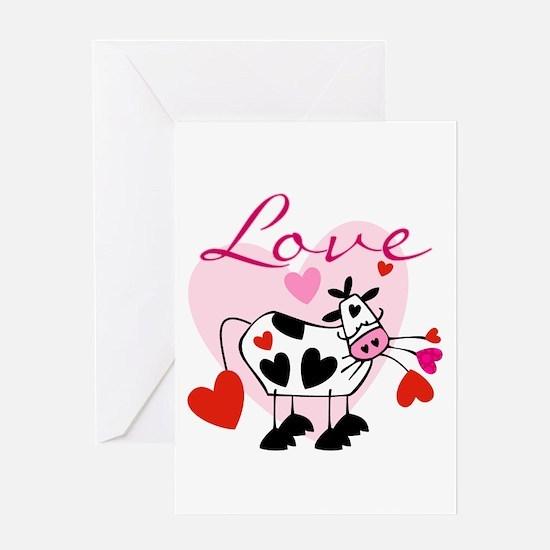 Mooey Love Greeting Card