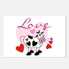 Mooey Love Postcards (Package of 8)