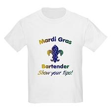Funny Mardi Gras Bartender T-Shirt