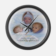 Garrett 1 Large Wall Clock