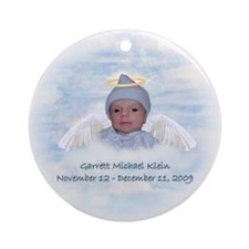Garrett 2 Ornament (Round)