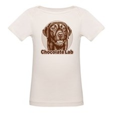 Chocolate Lab - Monochrome Tee