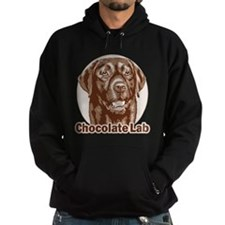Chocolate Lab - Monochrome Hoodie