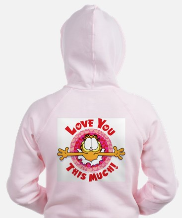 Love You This Much! Zip Hoodie