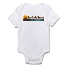 Surfside Beach SC - Pier Design Infant Bodysuit