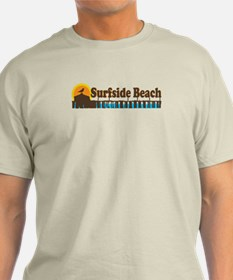 Surfside Beach SC - Pier Design T-Shirt