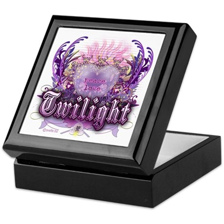 Peace Love Twilight Keepsake Box